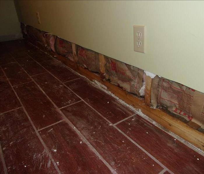Flooded Basement In Prospect And Repairs Before